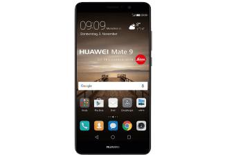 HUAWEI Mate 9, 64 GB, 5.9 Zoll, Dual SIM, Schwarz, LTE, Oreo kommt die Tage als Update
