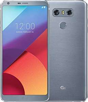 LG G6 32GB ice platinum Android 7.0 Smartphone