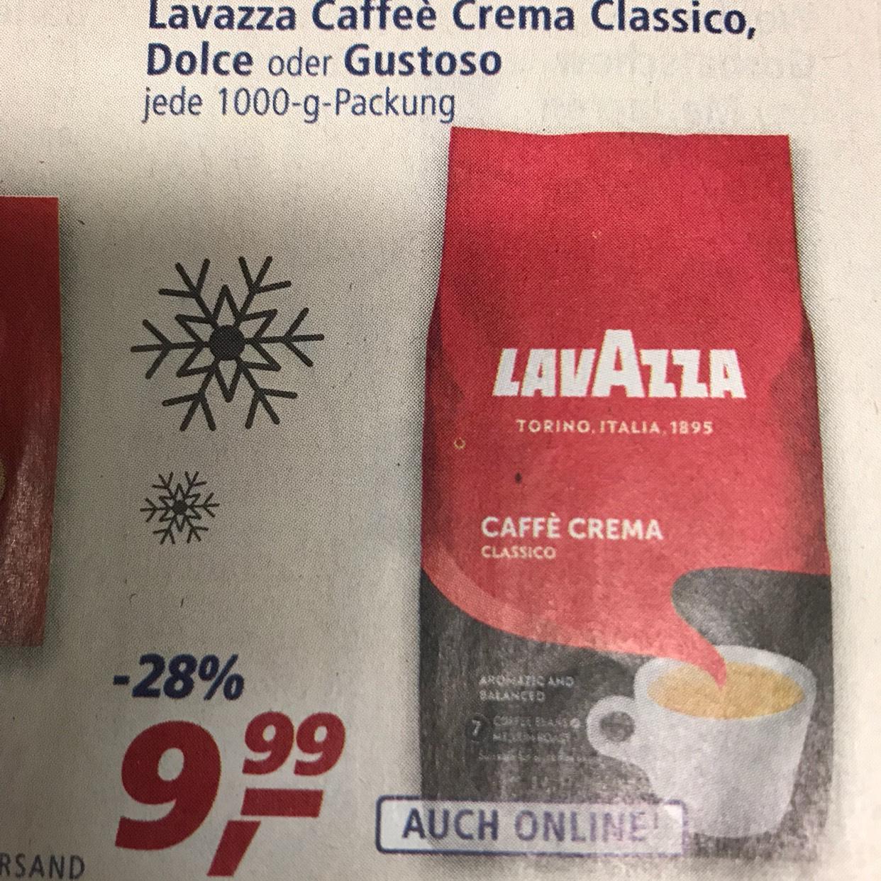Lavazza Caffeè Crema Classico 1000g