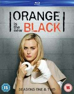 ORANGE IS THE NEW BLACK STAFFEL 1 & 2 BLU-RAY