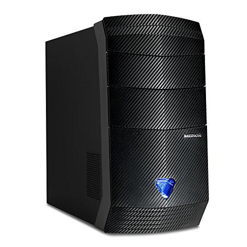 [Amazon.de] VORBESTELLER! Medion Erazer P5368 I Gaming Desktop-PC (Intel Core i5-6400, 16GB DDR4 RAM, 1TB HDD, 256GB SSD, AMD Radeon RX 480 8GB GDDR5, Win 10 Home) schwarz