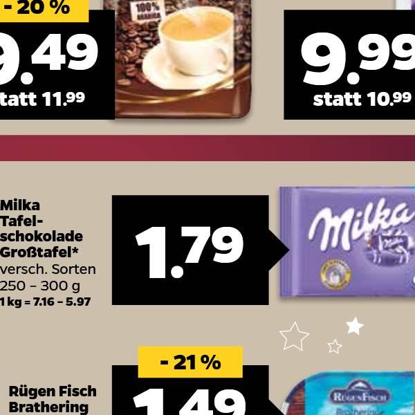 [regional] [Netto mit Hund] Milka Großtafel nur am Dienstag, den 19.12.2017