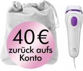[Rakuten] Braun Silk-expert BD3005 IPL Haarentfernungssystem für 109,99€ durch Cashback + 31,80€ in Superpunkten