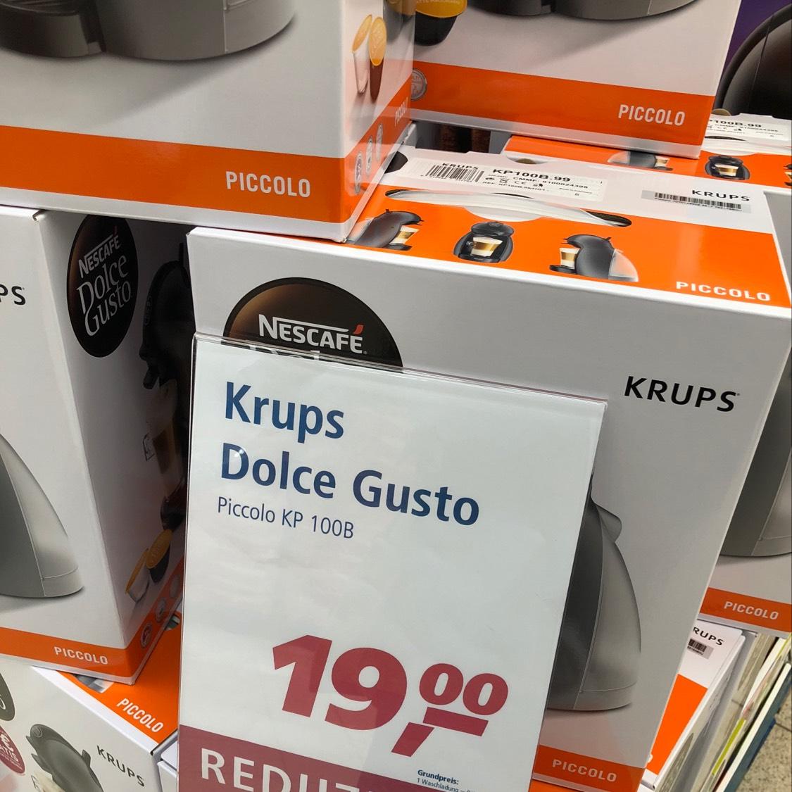 Real Neubrandenburg Krups Dolce Gusto Piccolo KP 100B + 10€ Guthaben