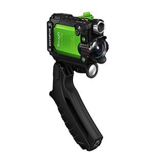 Olympus TG-Tracker Actionkamera (stoßfest, wasserdicht bis 30m, belastbar bis 100kg , frostsicher bis -10 C°, staubgeschützt) mit GPS, Barometer, Temperatursensor, Kompass und Accelerometer - Amazon