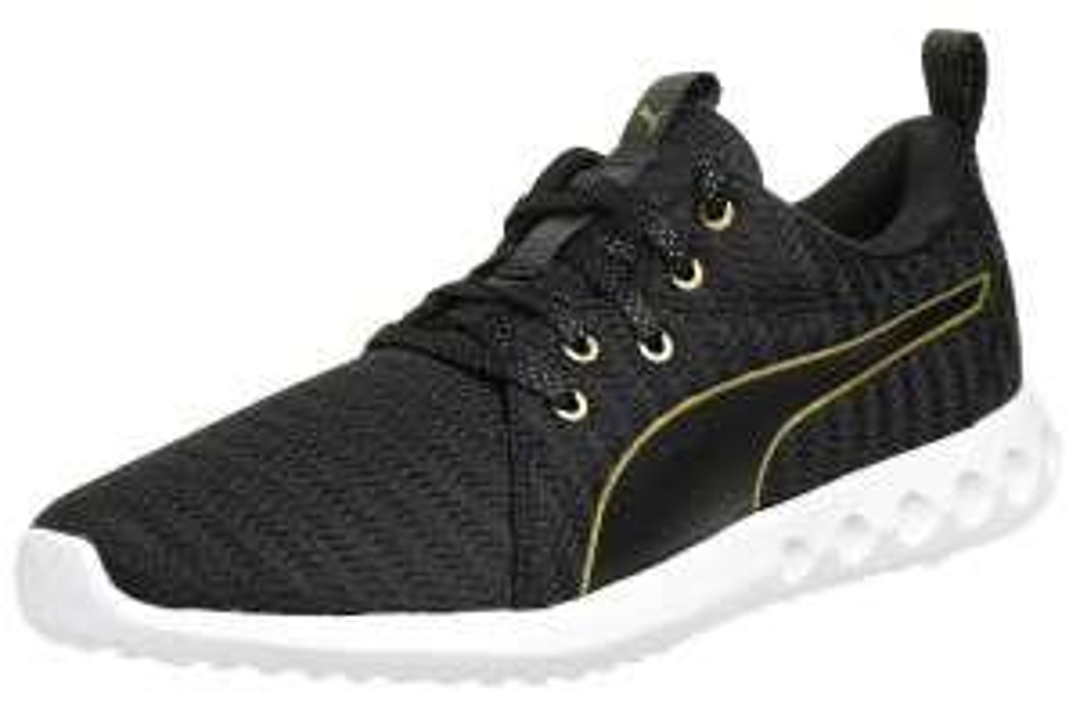 Puma Carson 2 Metallic Damen Fitnessschuhe/Sneakers in Schwarz oder Oliv