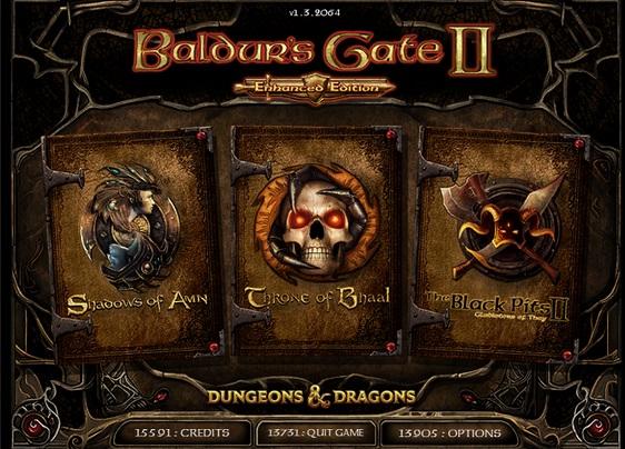 Dungeons & Dragons Sale (z.B. Baldur's Gate I und II: Enhanced Edition, Icewind Dale 2 Complete für je 4,29€, [GOG]