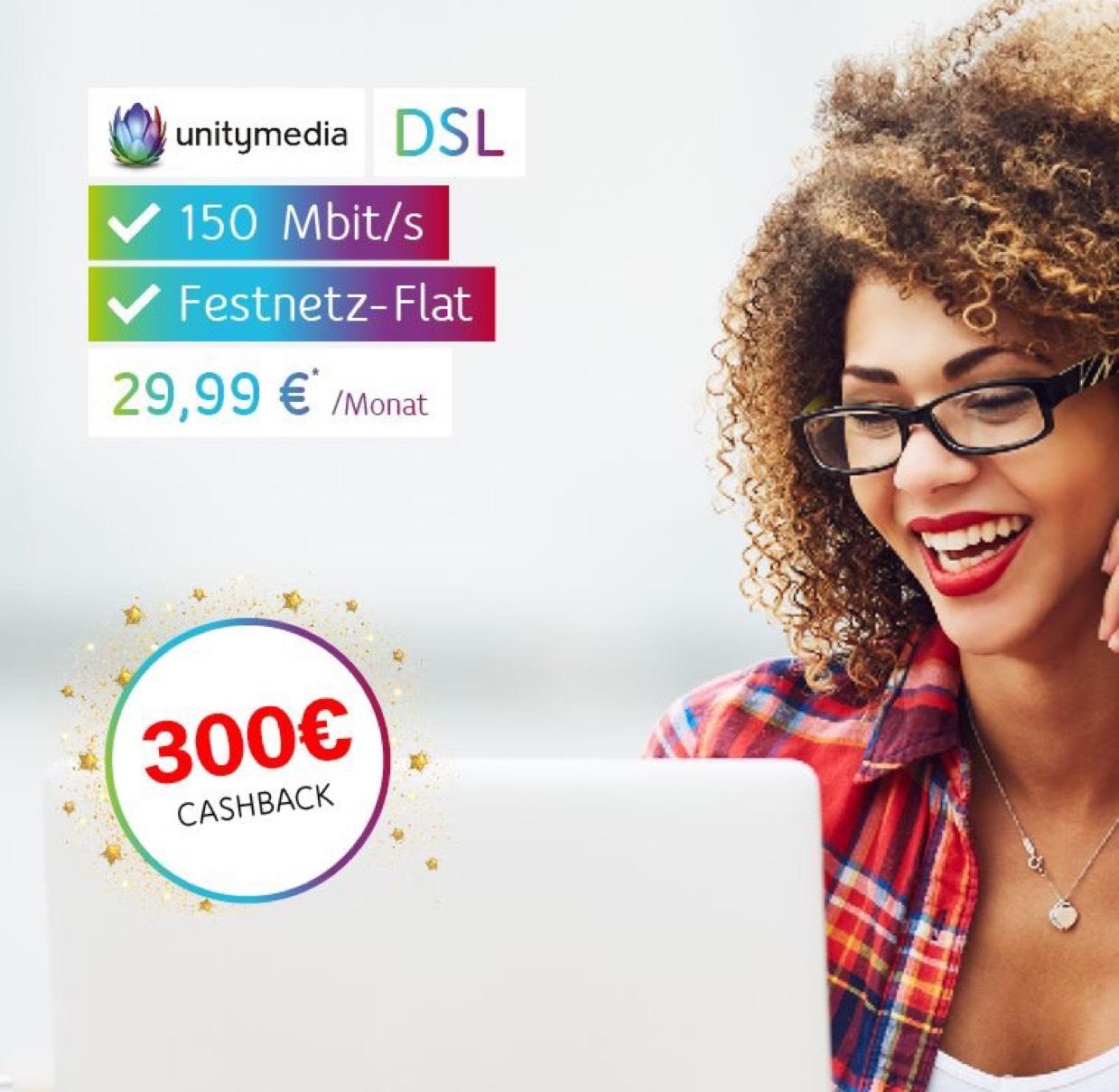 [Lokal] Unitymedia 2Play mit 300€ Cashback bei ibuy