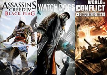 Ubisoft verschenkt bis zum 23. Dezember erneut die Spiele Watch_Dogs / World in Conflict / Assassin's Creed Black Flag