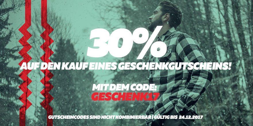 [Burner.de] 30% auf Geschenkgutscheine