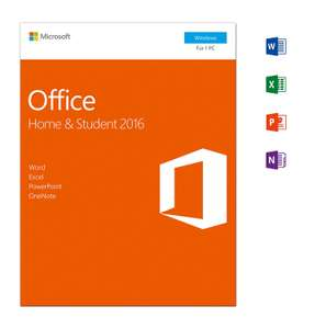 [Amazon] Microsoft Office Home and Student 2016 | PC | Download + 20 Euro CASHBACK