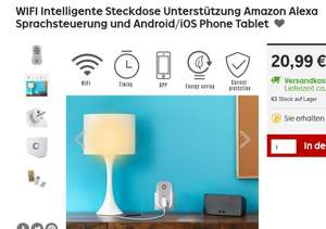 rakuten paydirekt wifi intelligente steckdose mit amazon alexa sprachsteuerung und android ios. Black Bedroom Furniture Sets. Home Design Ideas