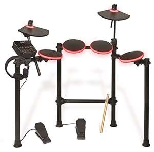 ION Audio Redline Drums Beleuchtetes elektronisches Schlagzeug