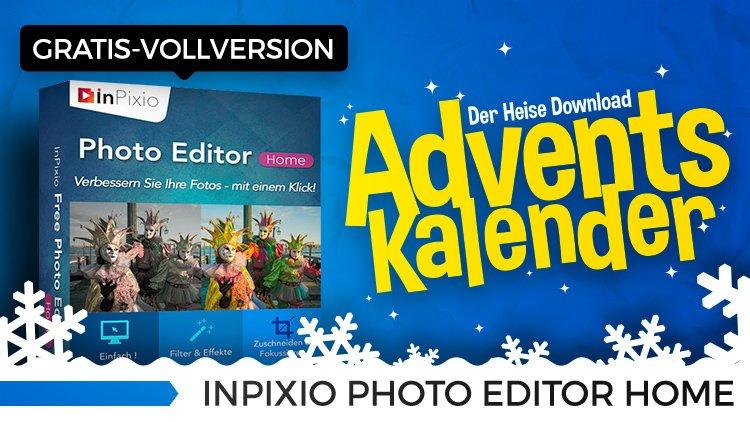 [heise.de] InPixio Photo Editor Home - Gratis Vollversion