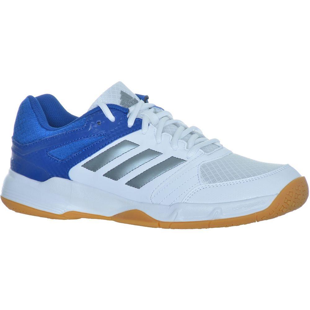 adidas Perfomance Speedcourt Men Herren Hallenschuhe Weiss/Blau@ebay
