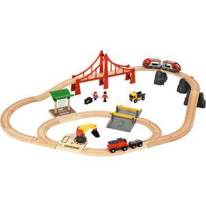 Brio Großes City & Frachten Set in Kunststoffbox 33924 - 54,99 € VSKfrei