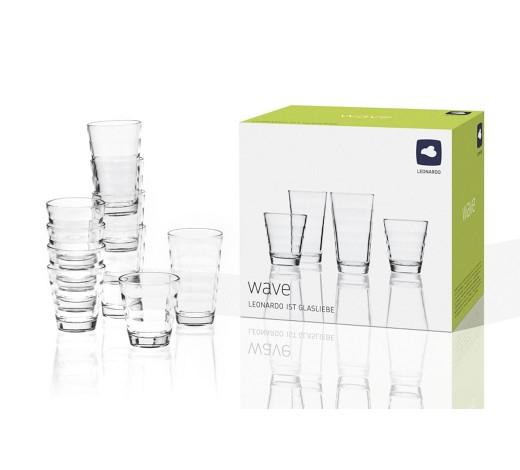 12-teiliges Leonardo Gläser Set + 6 x Weizengläser dank 10 EUR Gutschein [XXXLShop]