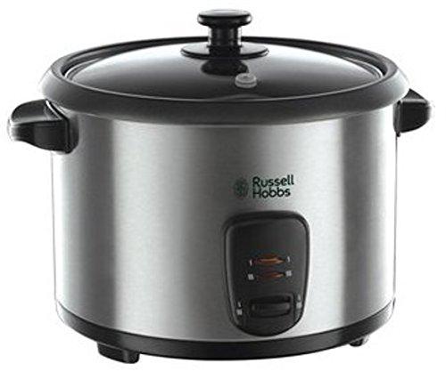 [Amazon Tagesdeal] Russell Hobbs Cook@Home 19750-56 Reiskocher (700 W, 1,8 l) edelstahl/schwarz