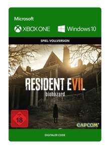 Resident Evil 7: Biohazard (Xbox One/PC Digital Code Play Anywhere) für 29,99€ (Xbox Store DE + Amazon)