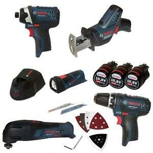 [ebay plus / wow] Bosch Five-Tool-Set mit GSA, GOP, GLI, GDR, GSR