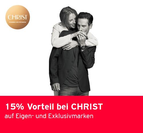 CHRIST.de  - 15% auf Eigen- und Exklusivmarken