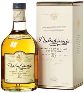 Dalwhinnie 15 Jahre Highland Single Malt Scotch Whisky (3 x 0.7 l)