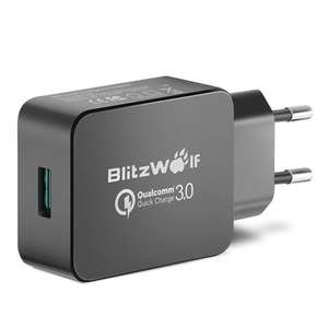 BlitzWolf BW-S5 USB Ladegerät (mit Quick Charge 3.0, 18W) Charger, Adapter [Banggood]