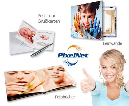 Pixelnet Deal @dailydeal 12 statt 40 Euro für Fotoprodukte (nicht für Fotos)