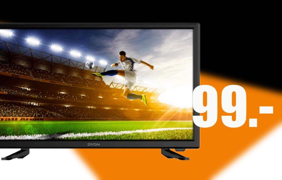 (Saturn Zwickau) Dyon Live 22 Pro LED-TV (Full-HD, Triple Tuner) schwarz
