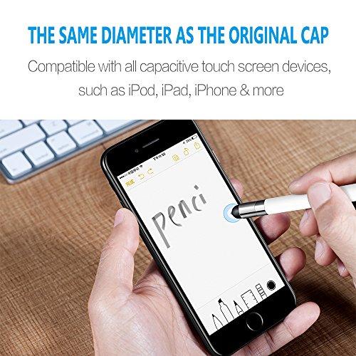 Blitzangebot: 3 x Touchscreen-Kappen für Apple Pencil -20%
