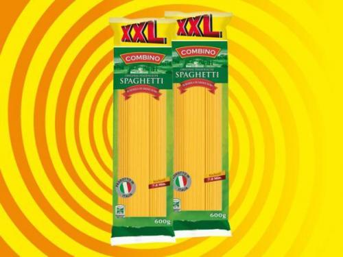 [OFFLINE] Lidl XXL Combino Spaghetti 600g statt 500g für 0,49€ pro Packung
