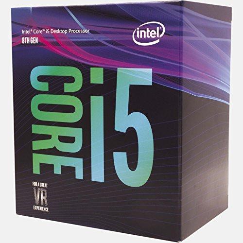[Amazon Vorbestellung] Intel Core i5-8400 (8. Gen.) Coffee Lake - 2.8 GHz - 6 Kerne - 6 Threads - 9 MB Cache-Speicher