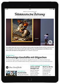 [Süddeutsche Zeitung - Studenten] 2 Jahre SZ Plus + iPad (2017, 32GB, WLAN) (PVG: 354€) für 417,60€ oder mit iPad mini 4 (128GB, Wlan) (PVG: 409,00€) für 457,60€