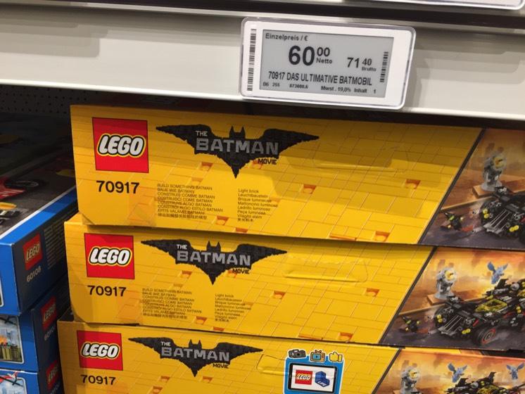 Metro Leipzig - Lego 70917 Das Ultimative Batmobil 71,40€ und andere Schnäppchen