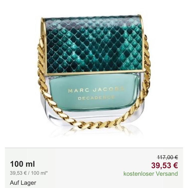 Marc Jacobs Divine Decadence Eau de Parfum für Damen VGP 60€