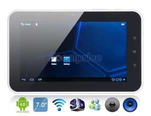 (HK) 7 Zoll Tablet  >Noname< Android 4.0.4  mit Kapazitivem Display 4GB (per SD erweiterbar) Wi-Fi, HDMI, Front Camera 512 MB RAM für € 47.68 @ focalprice