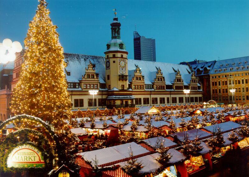 gratis Weihnachtsbäume (~1000 Stück) vom Leipziger Weihnachtsmarkt mitnehmen - am 22.12. ab 16 Uhr
