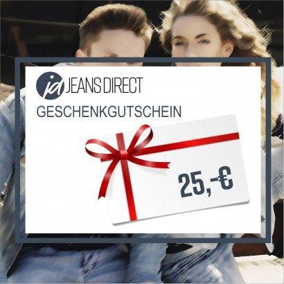 Last Minute Weihnachtsgeschenk: Jeans Direct Geschenkgutscheine mit 20% Rabatt (25€/50€/100€)
