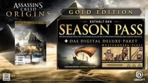 Assassin's Creed Origins Gold Edition für PS4/Xbox ab 56,79€ inkl VSK / PC ab 50,39€