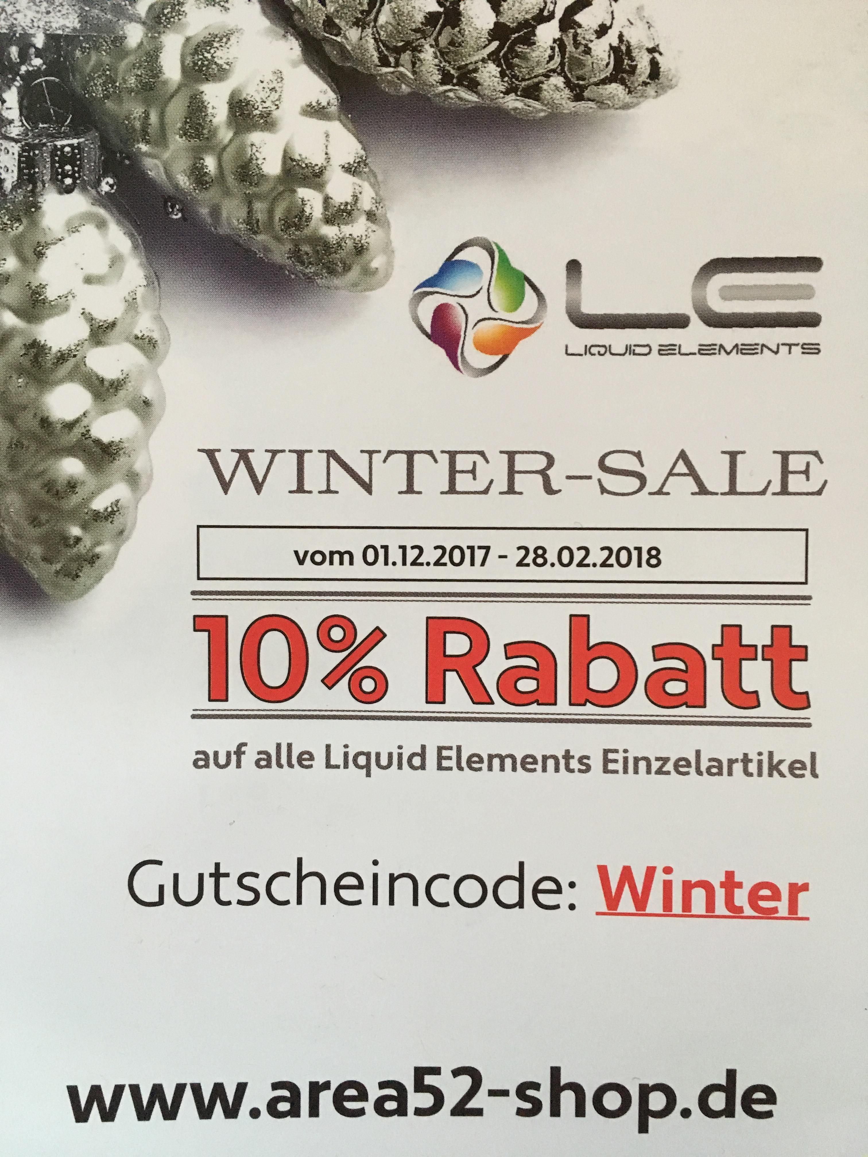 10% Gutschein Area52-Shop Liquid Elements LE Fahrzeugpflege