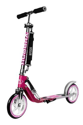 [Amazon] HUDORA Big Wheel Scooter 205, Tret-Roller klappbar - City-Scooter - 14764, magenta/silber