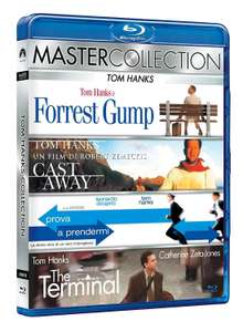 Forrest Gump + Cast Away + Catch Me If You Can + The Terminal (4x Blu-ray) für 10,70€ (Amazon.it)