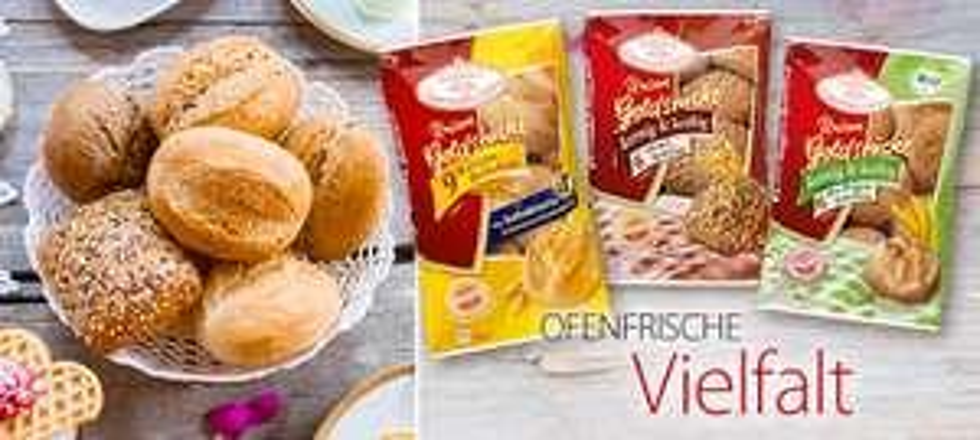 Coppenrath & Wiese Aufbackbrötchen mit Coupon für 0.58€