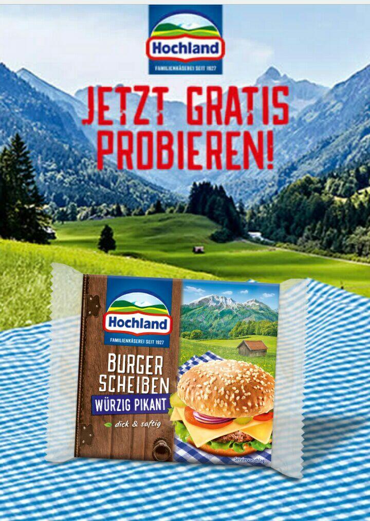 Hochland Käse Gratis Testen Aktion