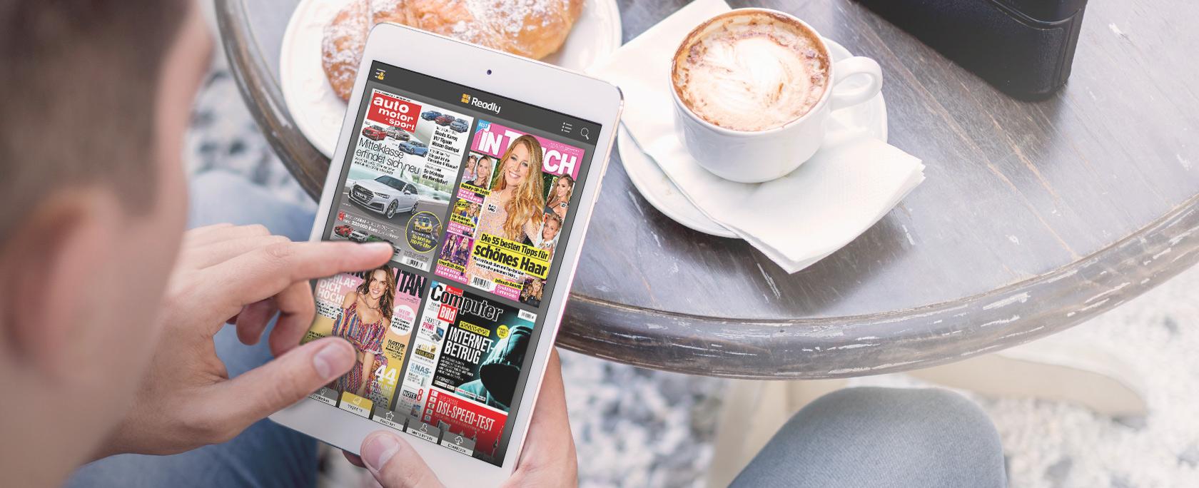 Nur heute: 3 Monate Readly Magazin-Flatrate für nur 0,99€, statt 29,97€ (-97%!)