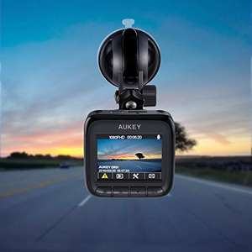 AUKEY Autokamera DR01 1080P Dashcam Ultra Kompakt 170° Weitwinkel, G-Sensor Bewegungserkennung, WDR Nachtsicht, Loop-Aufnahme