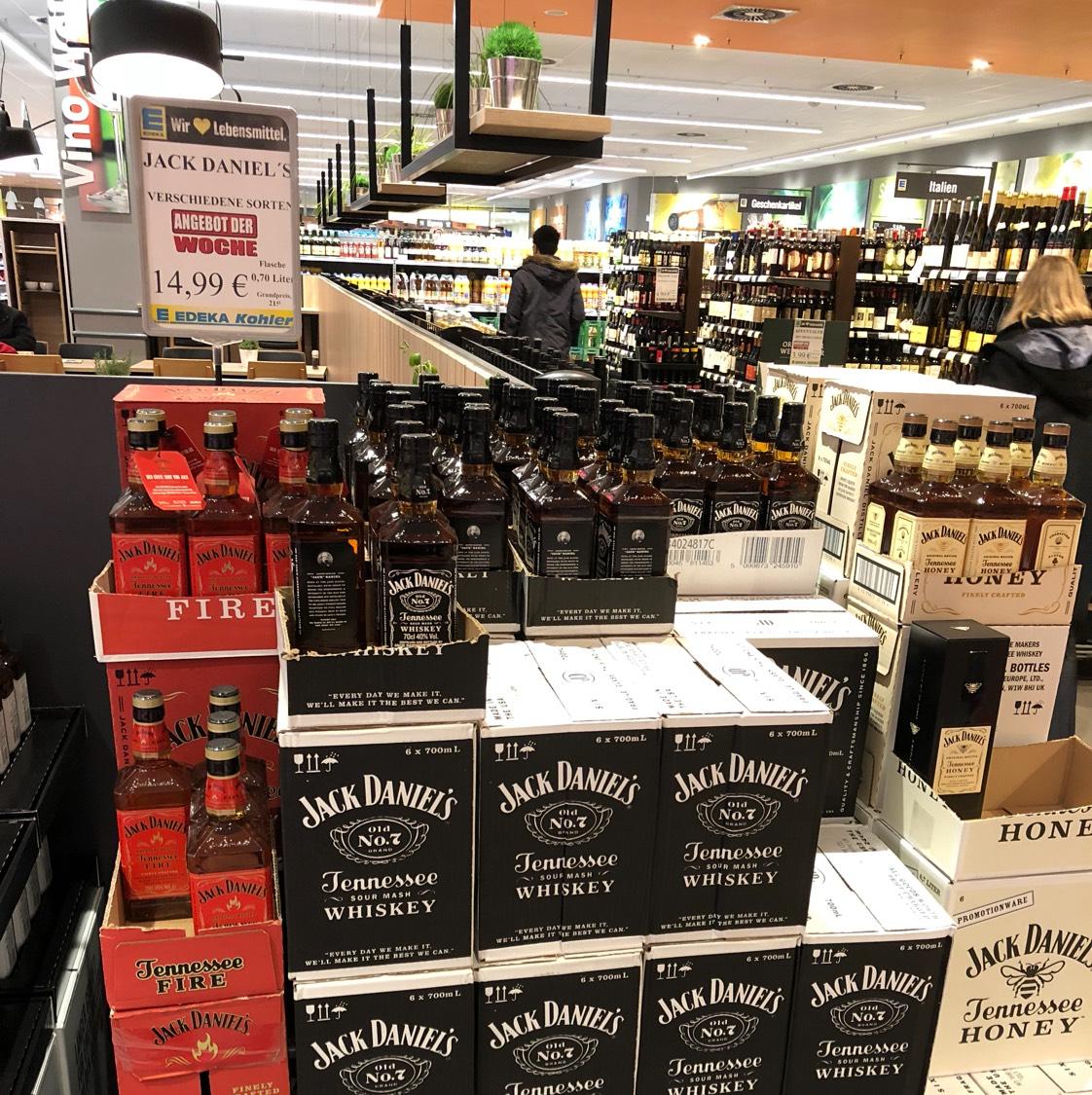 Jack Daniels Lokal Edeka Köhler 77694 Kehl