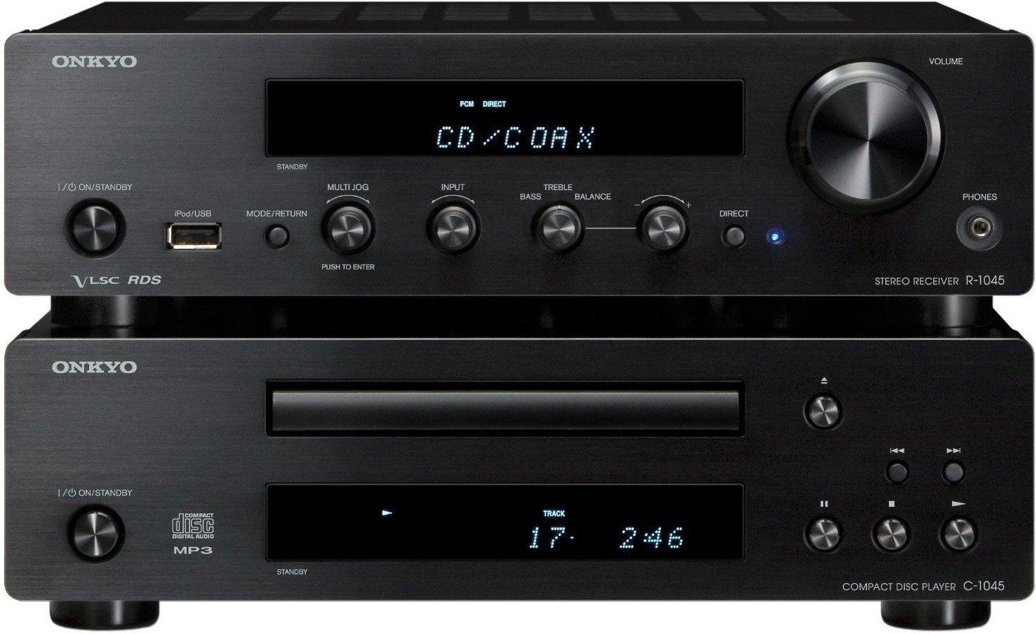 Elektrowelt24: Onkyo PHA-1045 HiFi-Kompaktanlage (CD-Player + Receiver) schwarz oder silber für 499 € (798,89 € PVG)