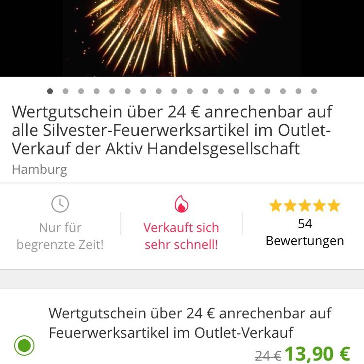 Lokal Hamburg Feuerwerksgutschein