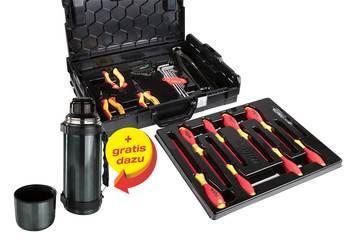 Wiha VDE Werkzeugset, 30tlg. in L-BOXX + 1l Thermosflasche